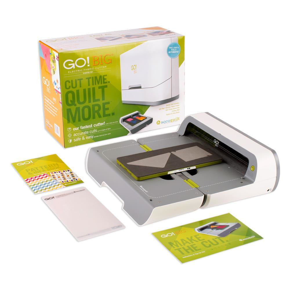 GO! - Big Electric Cutter Starter Set