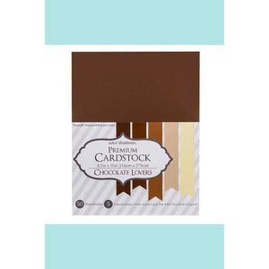"Premium Card Stock Chocolate Lovers 8.5""x11"" 50 sheets"