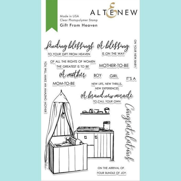 Altenew - Gift From Heaven Stamp Set