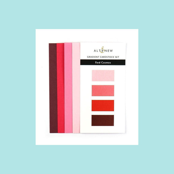 Altenew Gradient Card Stock Set - Red Cosmos