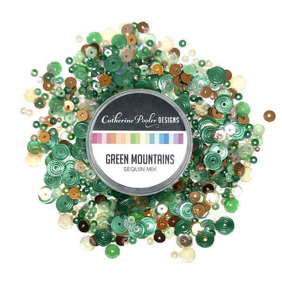 Catherine Pooler - Green Mountains Sequin Mix