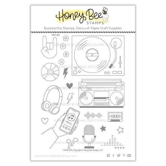 Honey Bee Stamps - Good Mix Stamp and Die