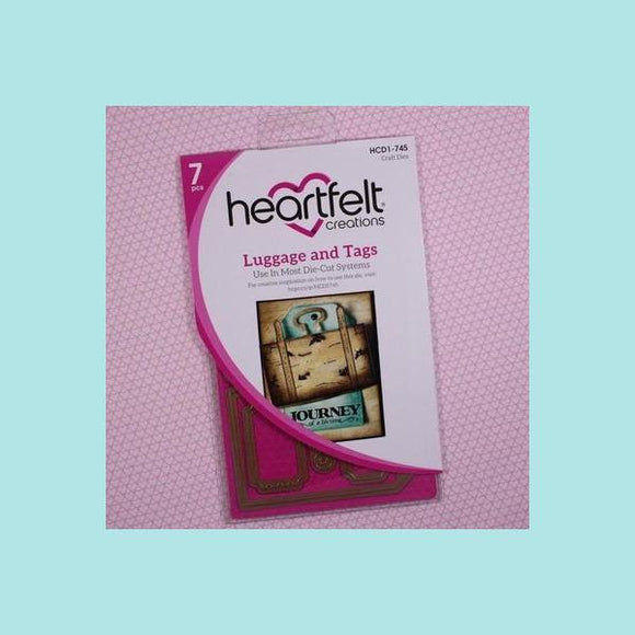 Heartfelt Creations - Luggage and Tags Die