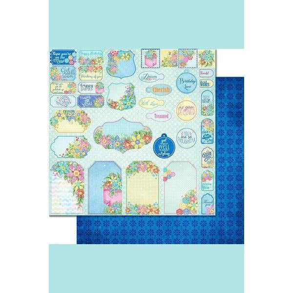 Heartfelt Creations - Buttons and Blooms Paper Collection