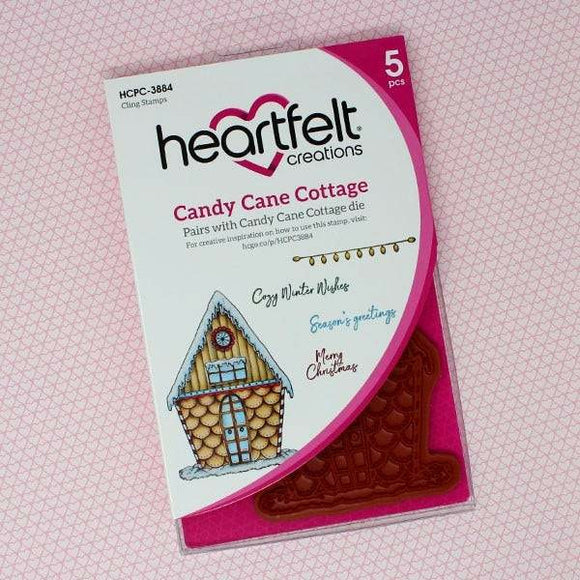 Heartfelt Creations - Candy Cane Cottage Collection - Candy Cane Cottage Die