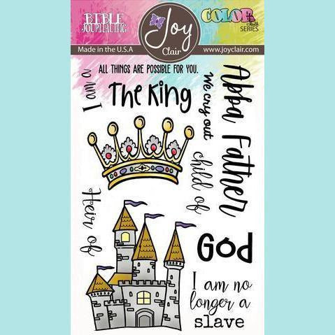 Joy Clair - Heir of God | Bible Journaling Stamp Set