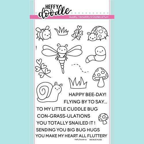 Heffy Doodle - Big Bug Hugs Stamps and Dies
