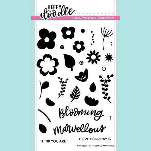 Heffy Doodle - Blooming Marvellous Stamps and Dies