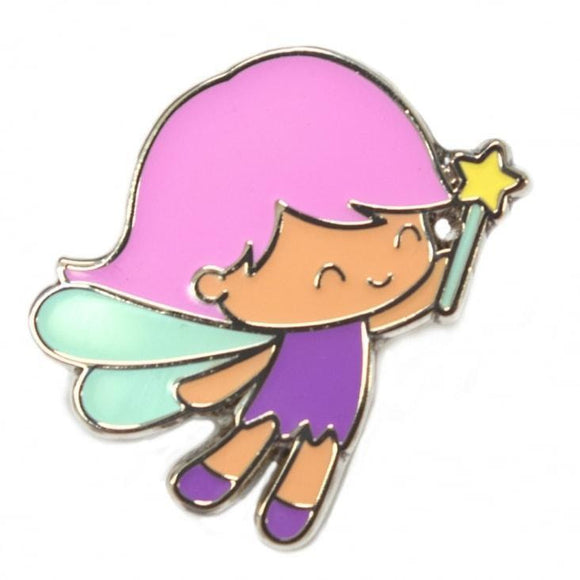 Heffy Doodle - Fairy Enamel Pin - Limited Edition