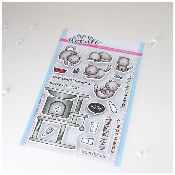 Heffy Doodle - Purrfect Day Stamps
