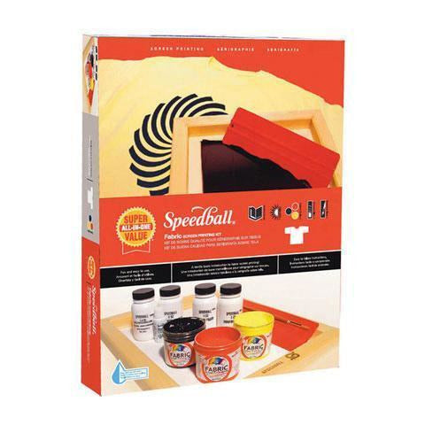 Speedball Silkscreen Printing Kit: 12 Pieces