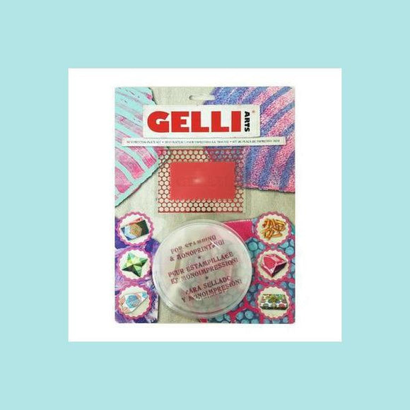 GELLI ARTS® - Mini Kit - Hexagon Plate