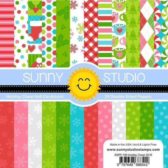 Sunny Studio Stamps - Holiday Cheer Paper