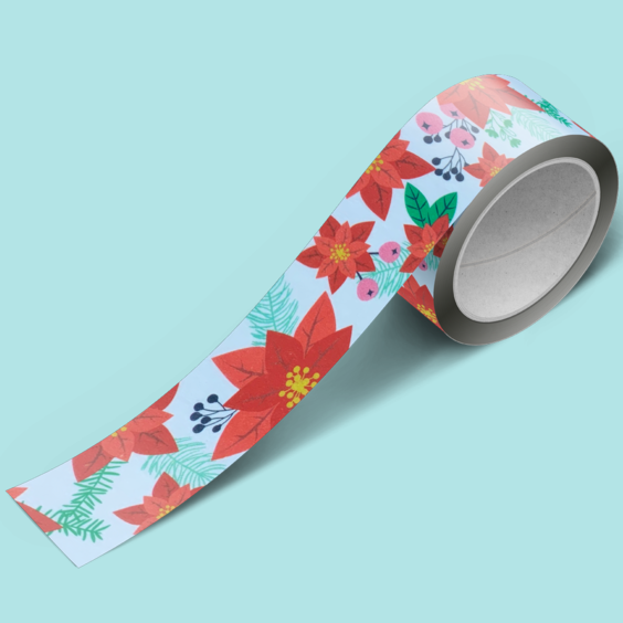 Brutus Monroe Holiday Floral - Washi Tape