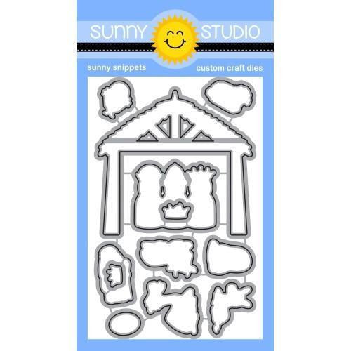 Sunny Studio Stamps - Holy Night Dies