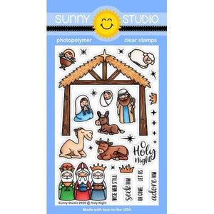 Sunny Studio Stamps - Holy Night Stamps
