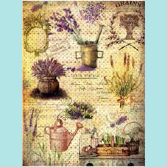 Imagination Crafts Rice Paper Pattern - 033