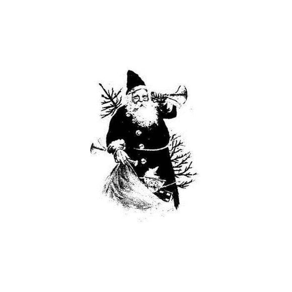 Imagination Crafts Art Stamps 135mm x 91mm - Santa Claus