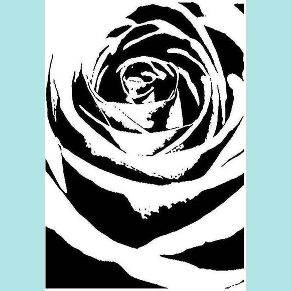 Imagination Crafts Art Stamps - Shadow Rose
