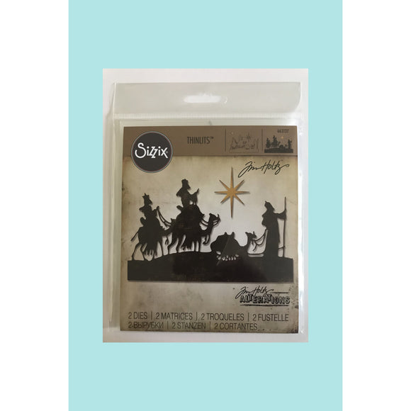 Tim Holtz Alterations Wise Men Sizzix Die
