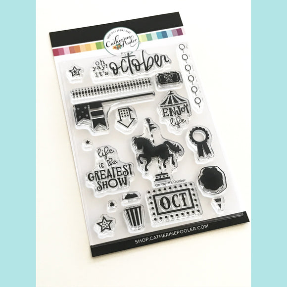 Catherine Pooler - Oh Yay! It's October Stamp Set