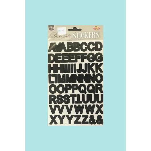 Twin Seven  Decorative Stickers - Alphabet