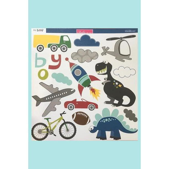 Bella BLVD Mr Boy Card Stock