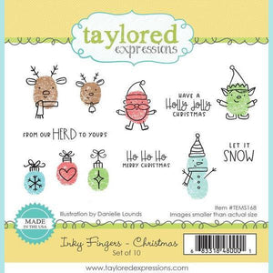 Taylored Expressions - Inky Fingers - Christmas