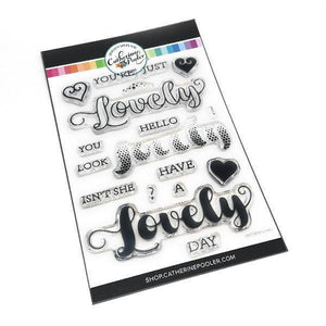 Catherine Pooler - Isn't She Lovely Stamp Set