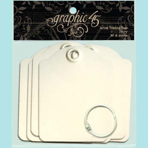 Graphic 45 - Artist Trading Tags – Ivory