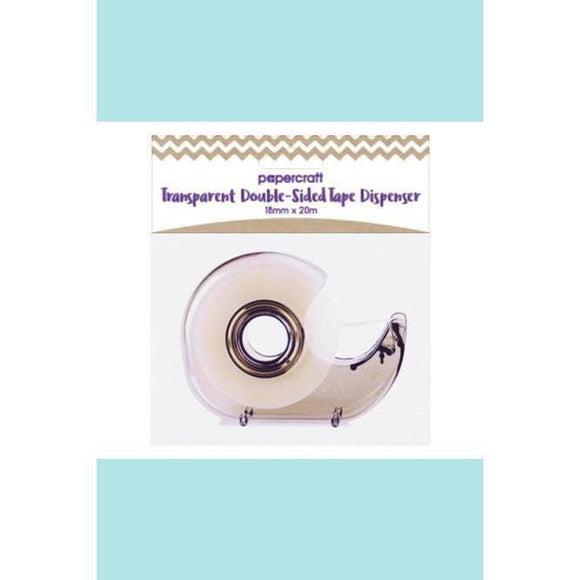 Papercraft Transparent Double-Sided Tape Dispenser