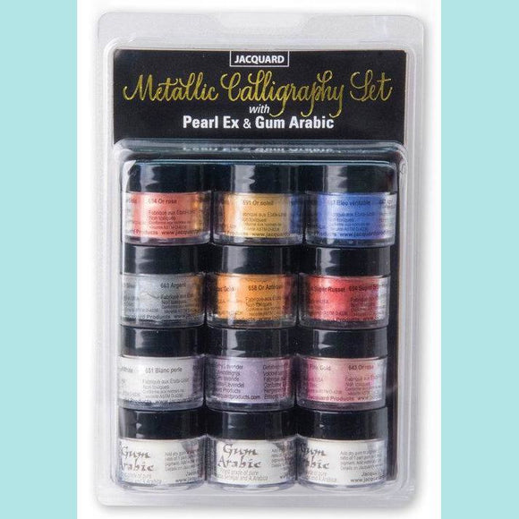 Jacquard - Pearl Ex Calligraphy Set
