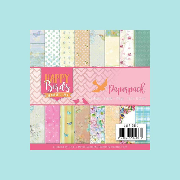 Couture Creations - Paper Pack - Jeanine's Art - Happy Birds