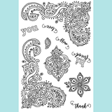 Joy Clair Bandana Bits Stamp Set