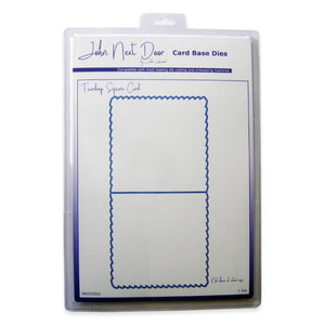 John Next Door - Card Base Dies - Teardrop Square Card