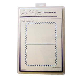 John Next Door - Card base Dies - Small Scallop Card