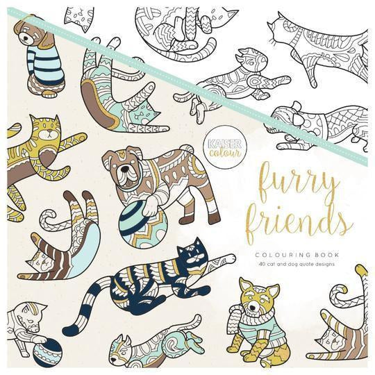 KaiserCraft - Kaisercolour Colouring Book - Furry Friends