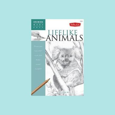 Drawing Made Easy: Lifelike Animals