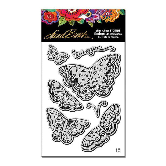 Stampendous - Laurel Burch Imagine Butterflies Stamp