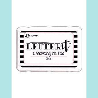 Ranger - Letter It Embossing Pad Clear