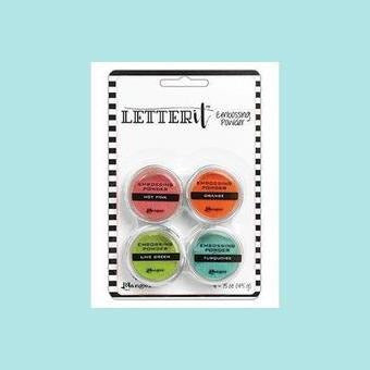 Ranger - Letter It Embossing Powders