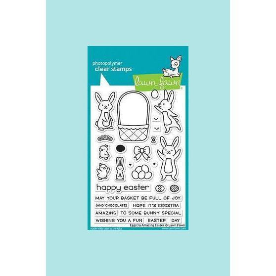 Lawn Fawn - Eggstra Amazing Easter Stamp and Die