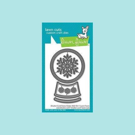 Lawn Fawn - Shutter Card Snow Globe Add-On - Lawn Cuts