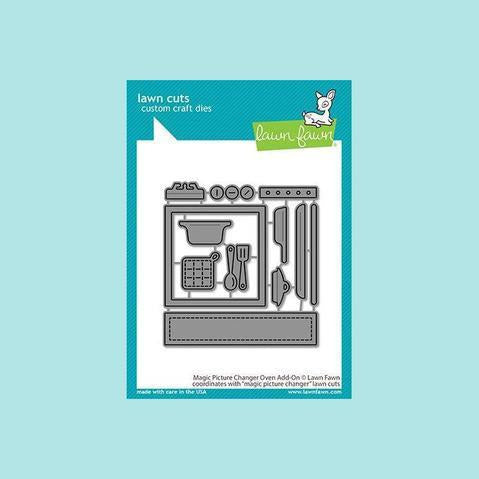 Lawn Fawn - Magic Picture Changer Oven Add-On - Lawn Cuts