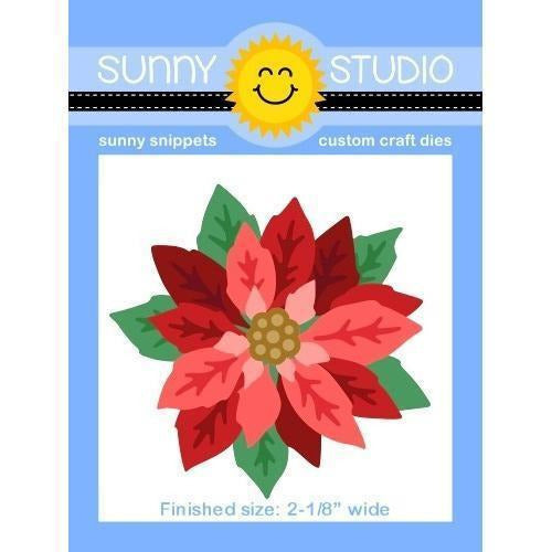 Sunny Studio Stamps - Layered Poinsettia Die