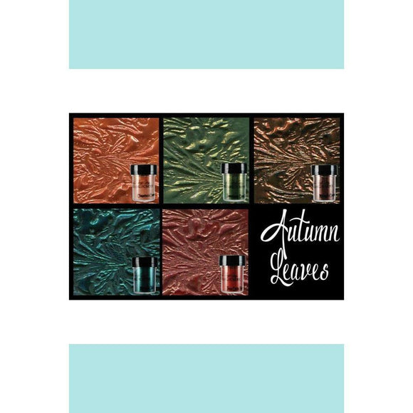 Lindy's Gang Autumn Leaves Embossing Powder Set