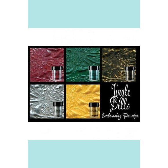 Lindy's Gang Jingle Bells Embossing Powder Set