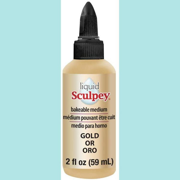 Liquid Sculpey - Liquid Polymer Clay - Gold
