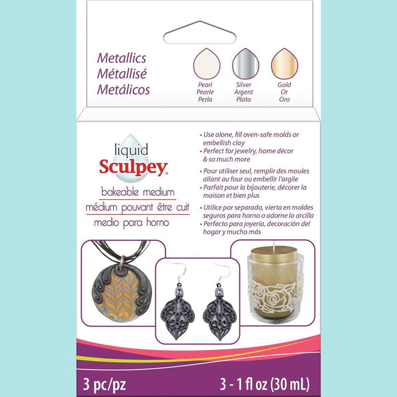Liquid Sculpey® - Multi-Pack - Metallic