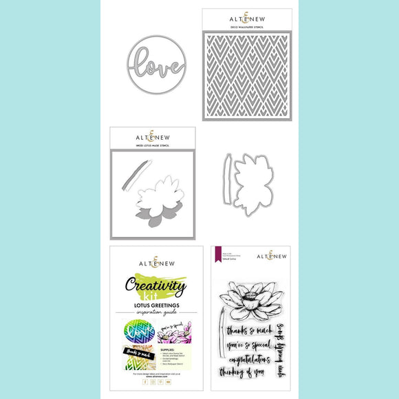 Altenew - Lotus Greetings Creativity Kit